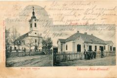 1900 Üdvözlet Rácz-Almásról