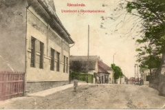 Ráczalmás - Kossuth Lajos utca a takarékpénztárnál